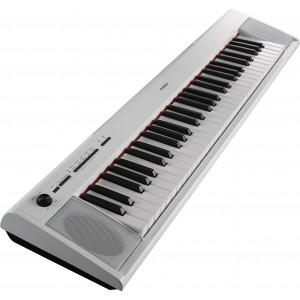 Yamaha NP-12WH 61 Keys Portable Piano-Style Keyboard - White