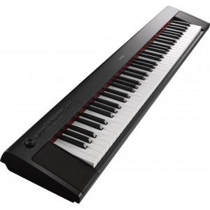 Yamaha NP-32B 76 Keys Portable Piano-Style Keyboard - Black