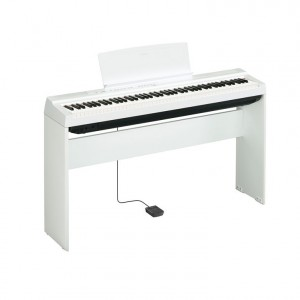 Yamaha P125WH 88 Note Digital Piano - White Without Stand