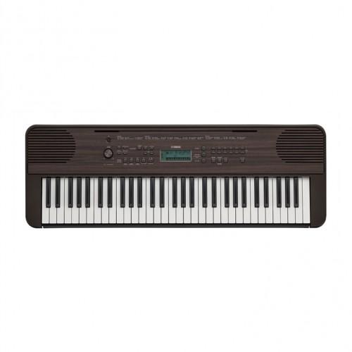 Yamaha PSR-E360DW Portable Keyboard -  Dark Walnut