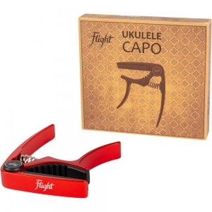 Flight FC-RD Red Ukulele Capo