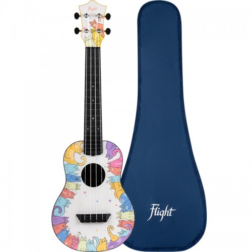 Flight TUC-KITTY Concert Travel Ukulele