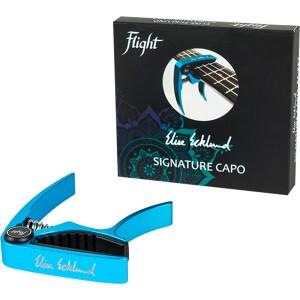 Flight FC-EET Elise Ecklund Signature Ukulele Capo Turquoise