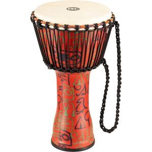 "Meinl Percussion 10"" Rope Tuned Travel Series Djembes, Goat Skin Head - PADJ1-M-G"