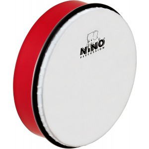 """NINO HAND DRUM 8"""" RED - NINO45R"""