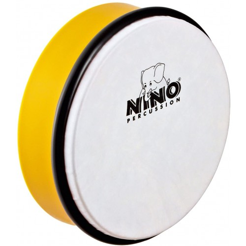 "NINO HAND DRUM 6"" YELLOW - NINO4Y"
