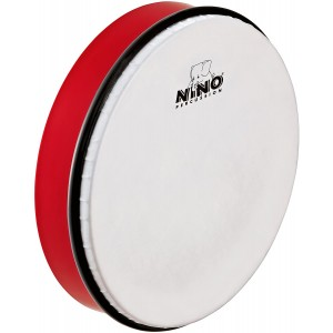"NINO HAND DRUM 10"" RED - NINO5R"