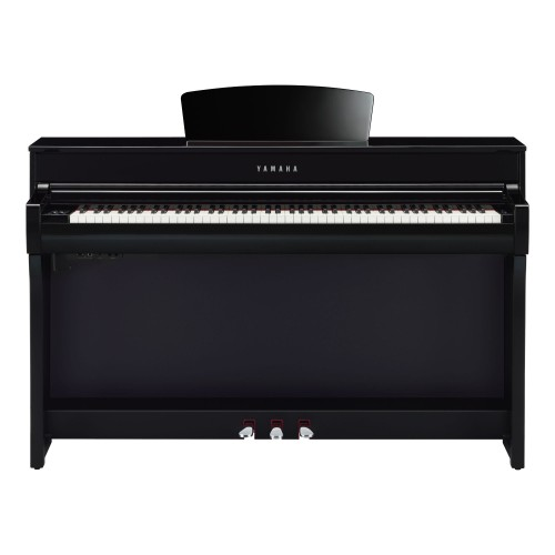 Yamaha Clavinova CLP-735 PE Digital Upright Piano - Polished Ebony