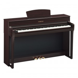 Yamaha Clavinova CLP-735 R Digital Upright Piano - Dark Rosewood