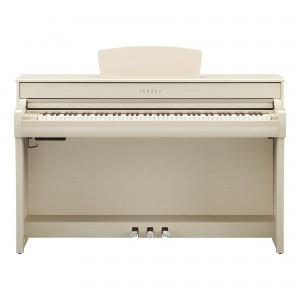 Yamaha Clavinova CLP-735 WA Digital Upright Piano - White Ash