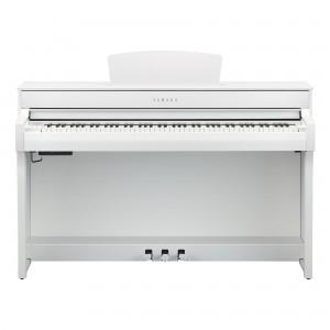 Yamaha Clavinova CLP-735 WH Digital Upright Piano - White