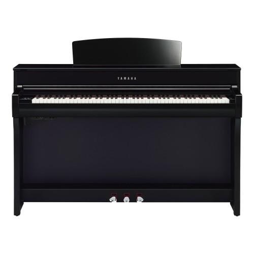 Yamaha Clavinova CLP-745PE Digital Upright Piano - Polished Ebony
