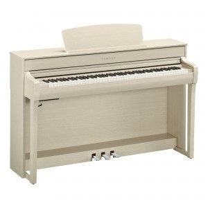 Yamaha Clavinova CLP-745WA Digital Upright Piano - White Ash