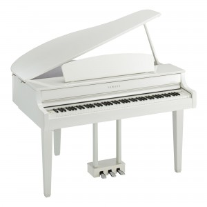 Yamaha Clavinova CLP-765GP WH Digital Piano - White