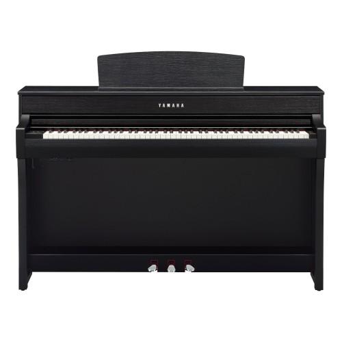 Yamaha Clavinova CLP-745B Digital Upright Piano - Black Finish
