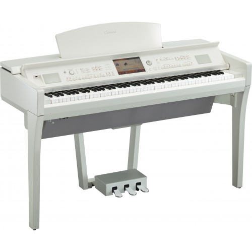 Yamaha Clavinova CVP-709 PWH Digital Piano - Polished White