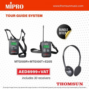 Mipro Tour Guide System