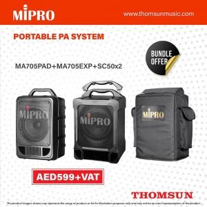 Mipro MA-705 Portable Wireless PA System