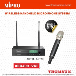 Mipro Wireless Handheld Micro Phone System