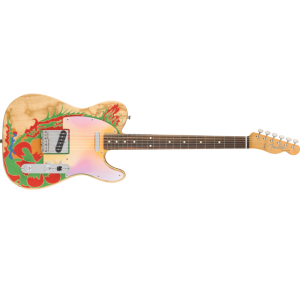 Fender 0146230721 Jimmy Page Telecaster Electric Guitar RW Natural