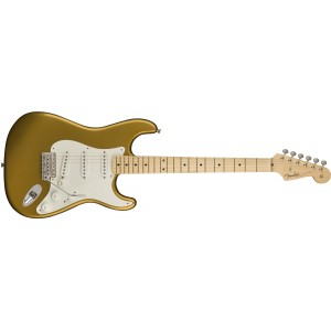 Fender 0110112878 American Original '50S Stratocaster Maple Fingerboard Electric Guitar - Aztec Gold