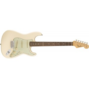 Fender 0110120805 American Original '60S Stratocaster Maple Fingerboard Electric Guitar - Olympic White