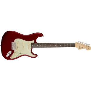 Fender 0110120809 American Original '60S Stratocaster Maple Fingerboard Electric Guitar - Candy Apple Red