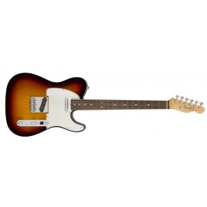 Fender 0110140800 American Original '60S Telecaster Rosewood Fingerboard Electric Guitar - 3 Color Sunburst