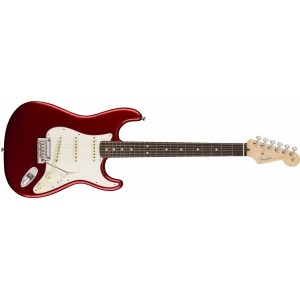 Fender 0113010709 American Professional Stratocaster Rosewood Fingerboard Electric Guitar - Candy Apple Red