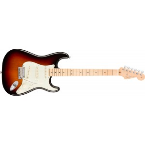 Fender 0113012700 American Professional Stratocaster Maple Fingerboard Electric Guitar - 3 Color Sunburst