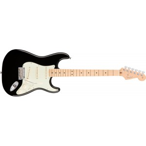 Fender 0113012706 American Professional Stratocaster Maple Fingerboard Electric Guitar - Black
