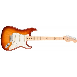 Fender 0113012747 American Professional Stratocaster Maple Fingerboard Electric Guitar - Sienna Sunburst