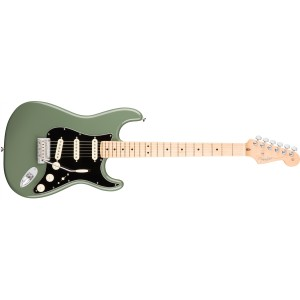 Fender 0113012776 American Professional Stratocaster Maple Fingerboard Electric Guitar - Antique Olive