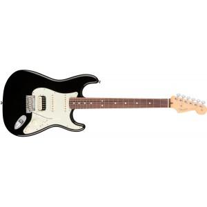 Fender 0113040706 American Professional Stratocaster HSS Shawbucker Rosewood Fingerboard Electric Guitar - Black