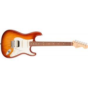 Fender 0113040747 American Professional Stratocaster HSS Shawbucker Rosewood Fingerboard Electric Guitar - Sienna Sunburst