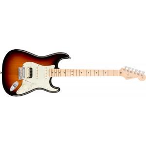 Fender 0113042700 American Professional Stratocaster HH Shawbucker Maple Fingerboard Electric Guitar - 3 Color Sunburst