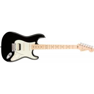 Fender 0113042706 American Professional Stratocaster HSS Shawbucker Maple Fingerboard Electric Guitar - Black