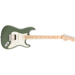 Fender 0113042776 American Professional Stratocaster HSS Shawbucker Maple Fingerboard Electric Guitar - Antique Olive