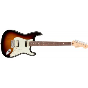 Fender 0113050700 American Professional Stratocaster HH Shawbucker Rosewood Fingerboard Electric Guitar - 3 Color Sunburst