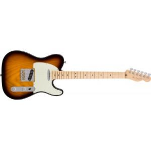 Fender 0113062703 American Professional Telecaster Maple Fingerboard Electric Guitar - 2 Color Sunburst