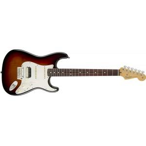 Fender 0113110700 American Standard Stratocaster HSS Shawbucker Rosewood Fingerboard Electric Guitar - 3 Color Sunburst