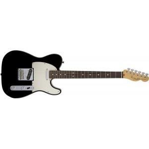 Fender 0113200706 American Standard Telecaster Rosewood Fingerboard Electric Guitar - Black