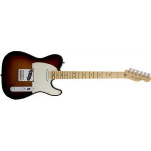 Fender 0113202700 American Standard Telecaster Maple Fingerboard Electric Guitar - 3 Color Sunburst