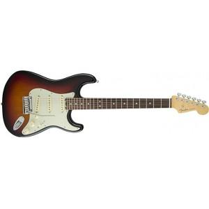 Fender 0114000700 American Elite Stratocaster Rosewood Fingerboard Electric Guitar - 3 Tone Sunburst