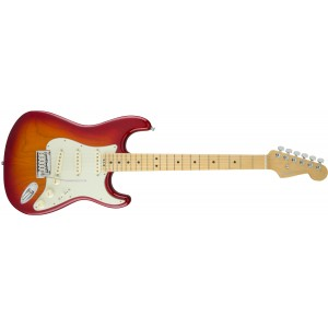 Fender 0114002731 American Elite Stratocaster Maple Fingerboard Electric Guitar - Aged Cherry Burst