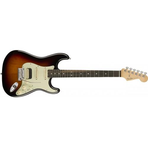 Fender 0114110700 American Elite Stratocaster HSS Shawbucker Rosewood Fingerboard Electric Guitar - Sunburst