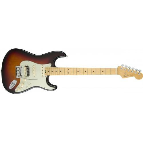 Fender 0114112700 American Elite Stratocaster HSS Shawbucker Maple Fingerboard Electric Guitar - Sunburst