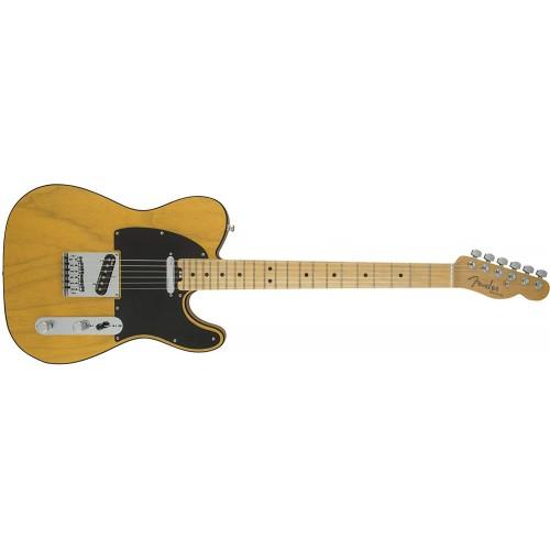 Fender 0114212750 American Elite Telecaster Maple Fingerboard Electric Guitar - Butterscotch Blonde