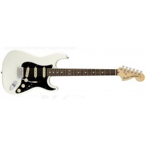 Fender 0114910380 American Performer Stratocaster Rosewood Fingerboard Electric Guitar - Arctic White
