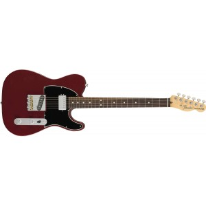 Fender 0115120345 American Performer Telecaster With Humbucking Maple Fingerboard Electric Guitar - Aubergine